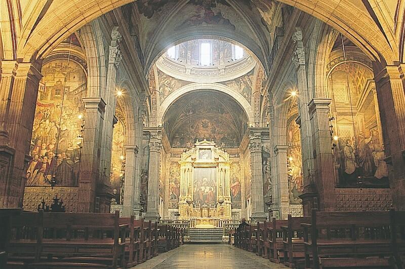 Valencia. catedral de valencia. interior