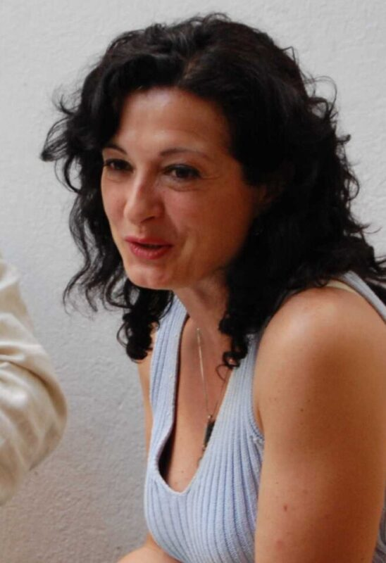 Ana Noguera, la autora.