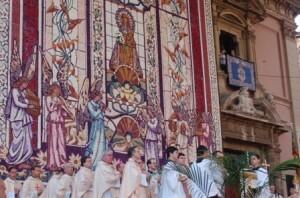 Tapiz de la Virgen de los Desamparados, Valencia