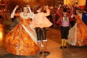 Dansà en honor a la Verge del Desamparats