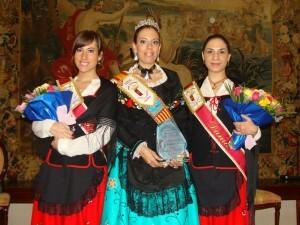 La Dulcinea de Valencia con sus dos damas