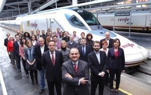 El candidato a la secretaria general del PSPV en la ciudad de Valencia en primera fila con la candidatura municipal/pspv