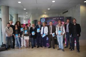 Los responsables de los locales participantes en la campaña.