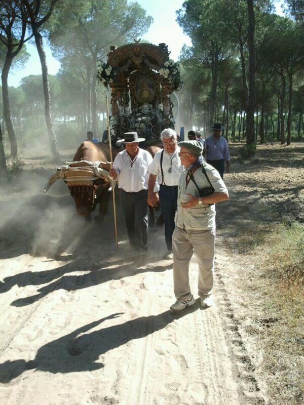 Un momento del Camino de los valencianos.