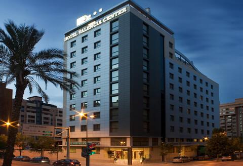Hotel Center de cuatro estrellas sito junto a la avenida de Francia