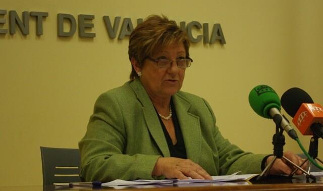 La concejala socialista Isabel Dolz./pspv