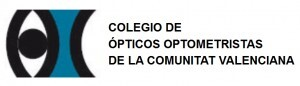 Logo del Colegio de Ópticos y Optometristas de la Comunidad Valenciana