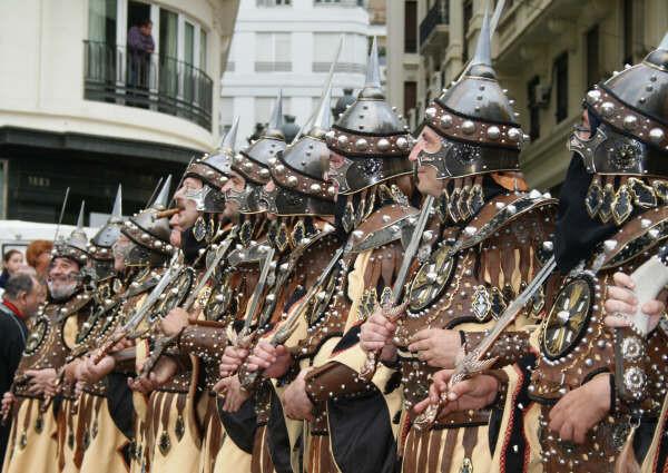 Moros y Cristianos en Valencia, 9 de octubre