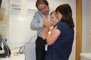 Una imagen del servicio de telemedicina pediátrica/nisa