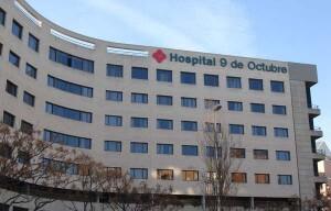 Fachada del Hospital Nou de Octubre