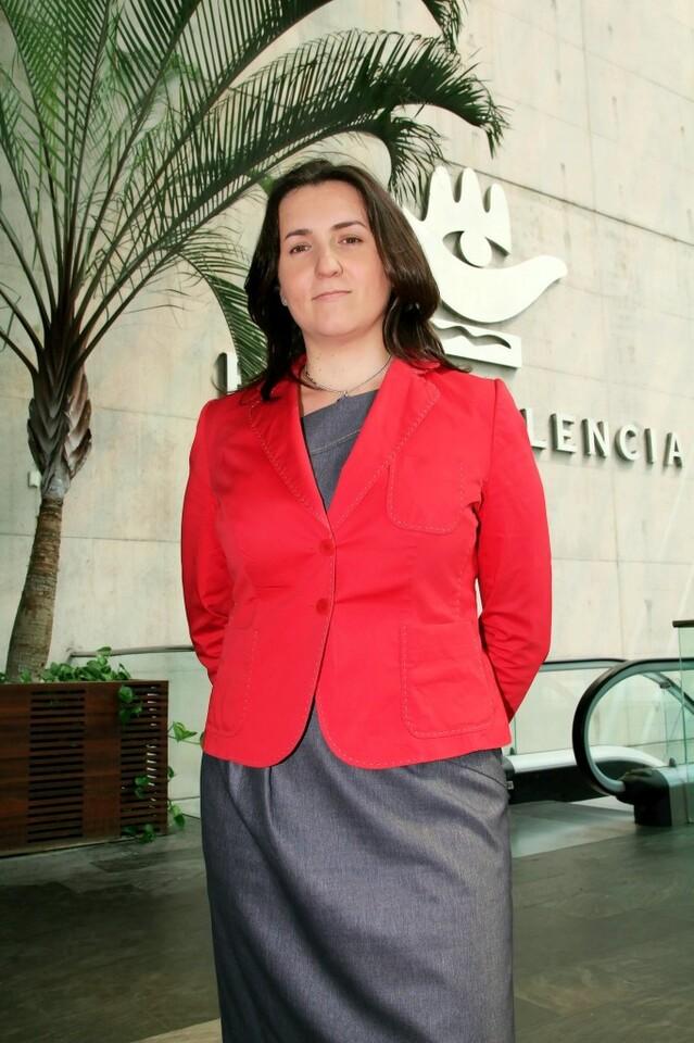 La presidenta de Urbe, Vicente Pastor/f.v.
