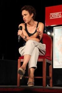 Antonia San Juan durante la rueda de prensa/marian valenciano