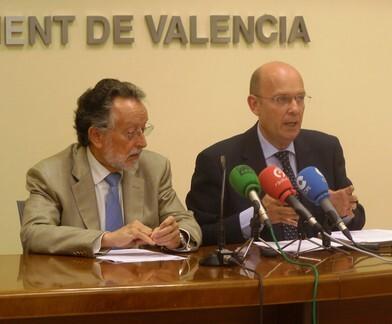 Alfonso Grau y Felix Crespo