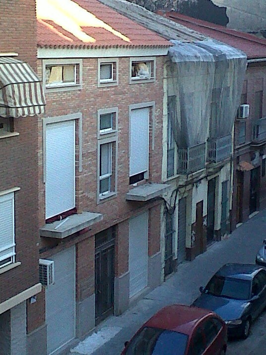 Casa ocupada donde han tenido lugar los hechos en la calle Progreso/aavv. cabanyal