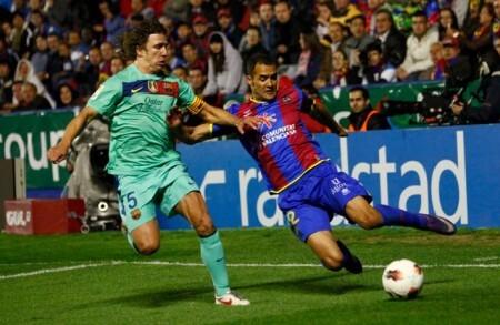 Levante UD. FC Barcelona. Juanfran