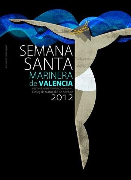 Cartel de la Semana Santa Marinera de Valencia