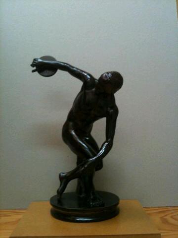 La escultura que recibirán hoy los premiados por VLCCiudad del taller de Manolo Martín