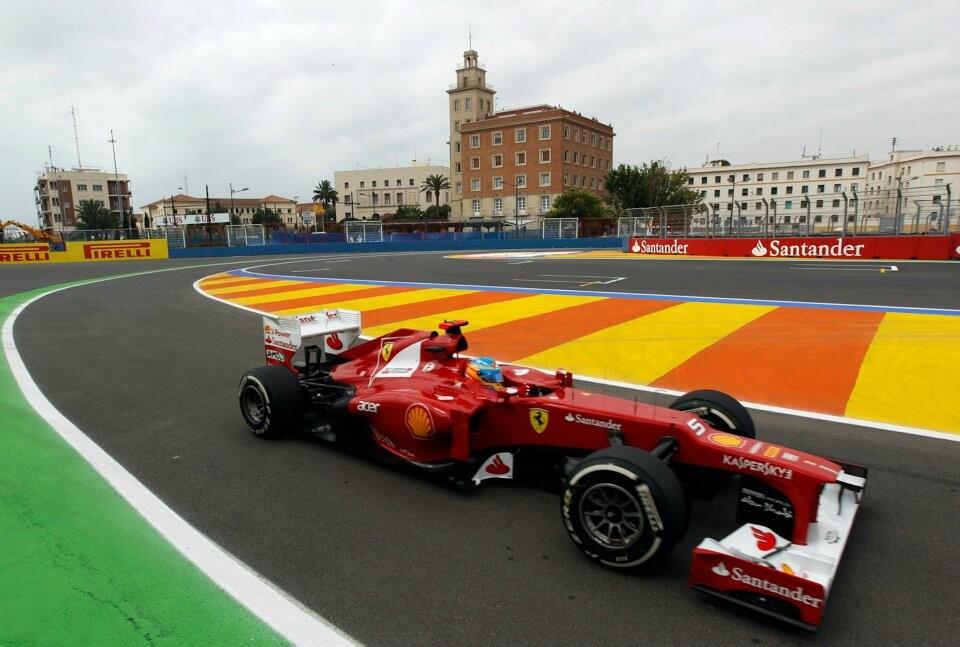 Valencia Street Circuit  Formula 1 Grand Prix Of Europe 2012 (10)