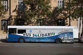 Bus Solidario de la ONG Médicos del Mundo