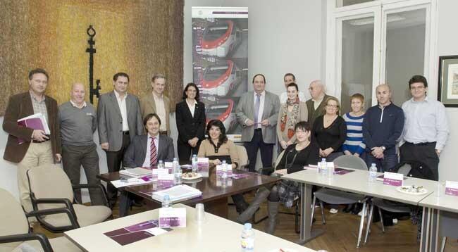 El comite de clientes Renfe en su reunión de Xátiva de diciembre pasado