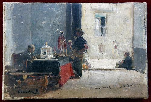 El cuadro del santero de Sorolla que robaron del Museo Benlliure