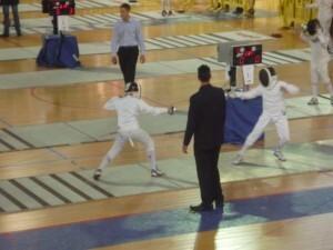 Iván, en competición