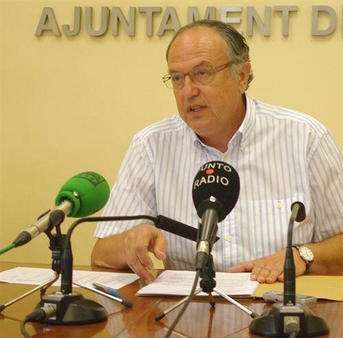 El concejal socialista Félix Estrela