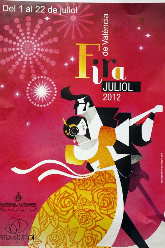 Cartel oficial de la Fira de Juliol 2012