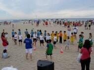 Un grupo de niños en una de las ediciones pasadas de los juegos