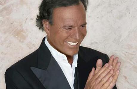 El cantante Julio Iglesias