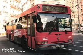 Un autobús de la línea 3 de la emt