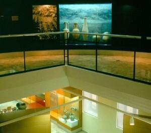 Una sala del museo de Prehistoria de la Diputación de Valencia