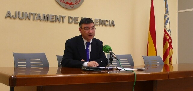 El concejal socialista Pedro M. Sánchez