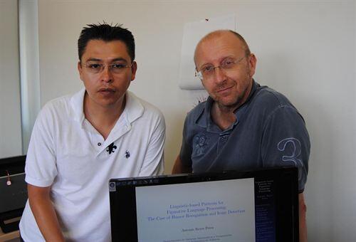 Los investigadores de la Politécnica que han desarrollado el trabajo