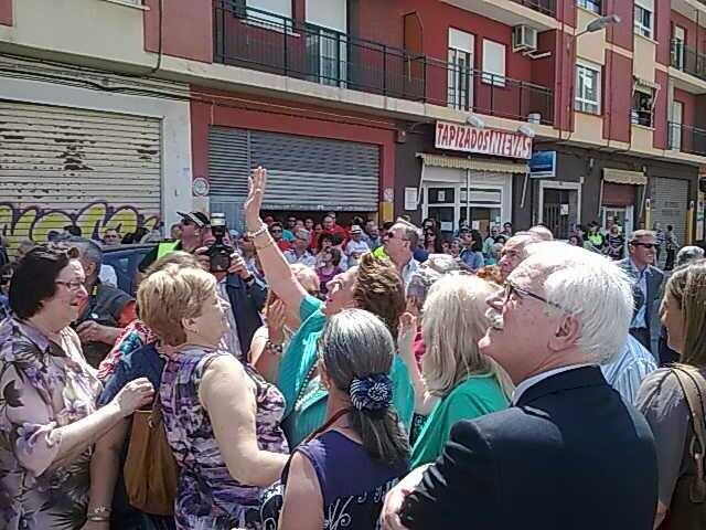 La protesta en el barrio de Torrefiel marcó un antes y un después en las acciones de trabajadores y empresa