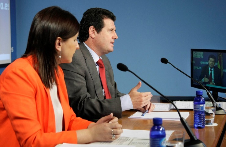 Rueda de prensa posterior al Pleno del Consell. 22/06/2012.