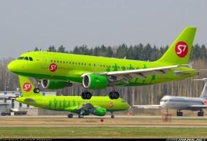 Dos aeronaves de la compañía rusa que mañana realiza su primera aterrizaje en tierras valencianas