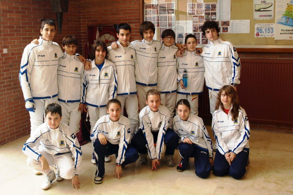 El equipo de la Sala d´Armes participante en el campeonato/SAV