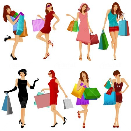 stock-vectors-fashion-shopping-girls-vector-pack