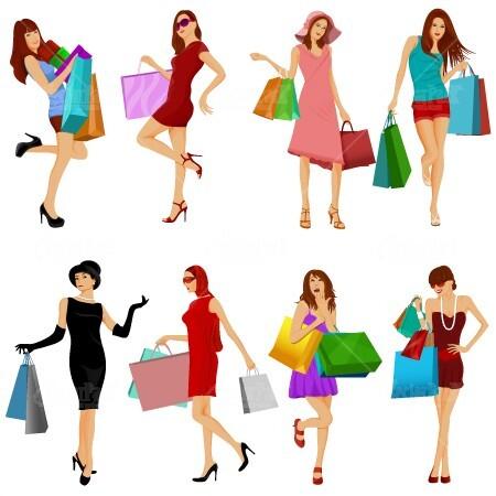 stock-vectors-fashion-shopping-girls-vector-pack
