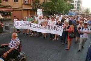 Medio millar de vecinos sigue reclamando una atención sanitaria justa en la antigua Fe