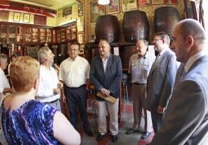 Reunión del PSPV con los vecinos del Cabanyal