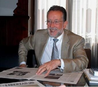 Alfonso Grau durante sus declaraciones en la mañana de hoy