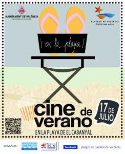El cartel oficial de la campaña del cine de verano que impulsa la diputación