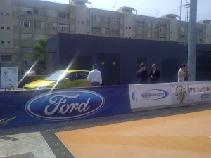 El concesionario Vedat Mediterráneo de Ford facilita los vehículos a la organización del campeonato europeo