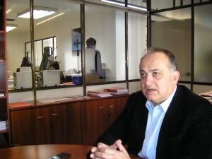 Calabuig se mostró seguro durante la entrevista y convencido de liderar el PSPV en la ciudad hacia la alcaldia
