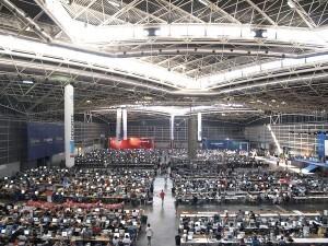 Esta imagen de la Campus Party en Valencia no se repetirá al menos los próximos cinco años