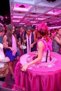 La fiesta fue de color de rosa