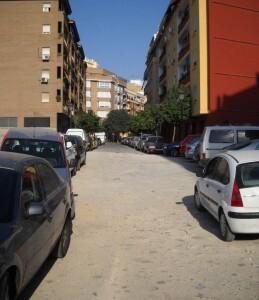 Otro detalle de la calle Chiva en Patraix/eu
