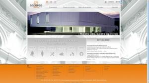 Nueva web de Secopsa